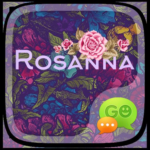 (FREE) GO SMS ROSANNA THEME