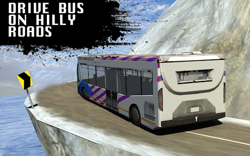 Modern Bus Station Tourist Offroad Uphill Drive 3D - náhled