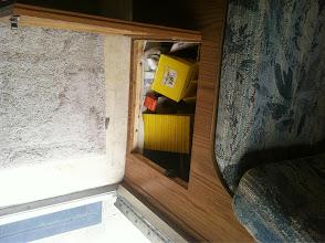 Photo: Storage under seat