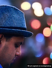 Photo: For some reason, a fedora makes it all better . . .