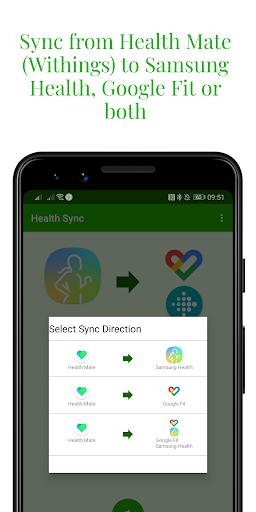 Capturas de pantalla de Health Sync 7