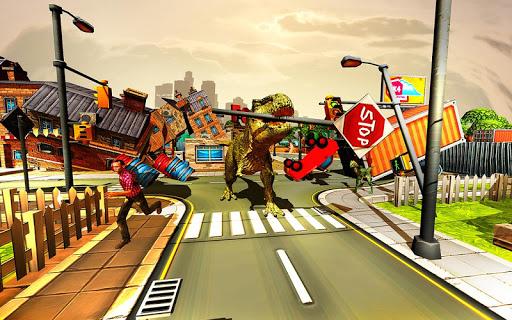 Angry Dinosaur City Rampage 1.0.2 screenshots 1