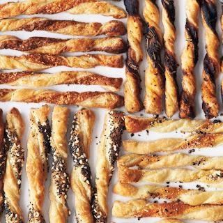 Puff-Pastry Cheese Straws