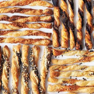 Puff-Pastry Cheese Straws.