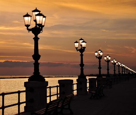 Un'alba arancione di Diana Cimino Cocco