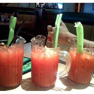 Pitcher Of Bloody Marys.