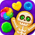Spooky Cookie Party : Sweet Blast Puzzle Games apk
