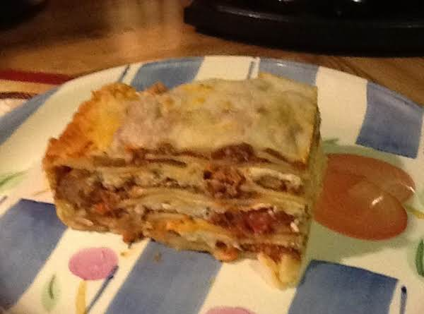 Colleen's Best Ever And Tasty Lasagna Recipe
