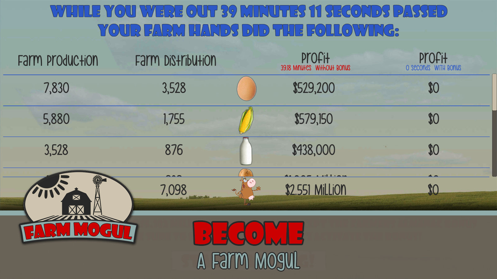 Farm Mogul- screenshot
