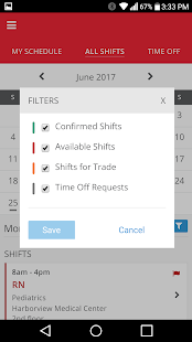 Shiftboard People Scheduling - náhled