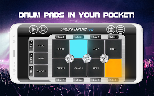 Simple Drum Pads- screenshot thumbnail
