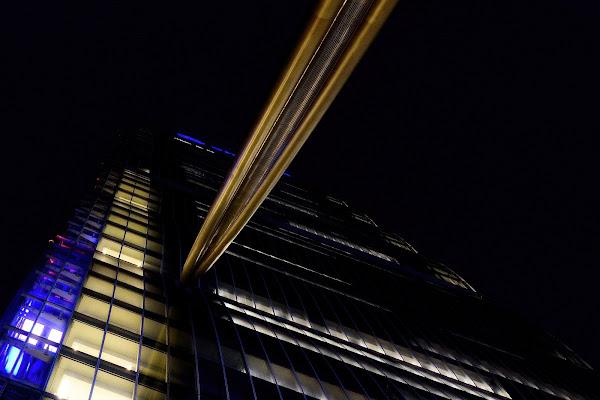 Isozaki tower by night di effemme