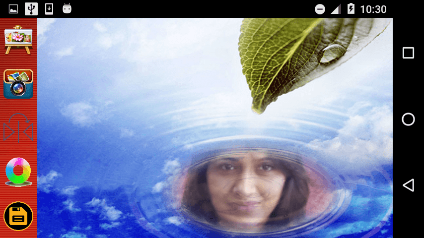android Water Photo Frames Screenshot 2
