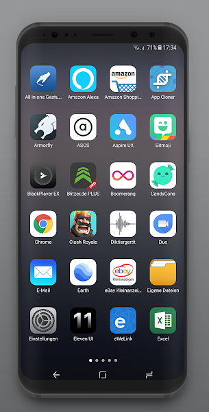 Eleven UI - Icon Pack- screenshot