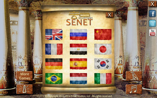 Egyptian Senet (Ancient Egypt Game) android2mod screenshots 7