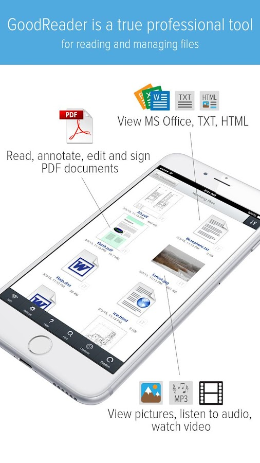 GoodReader APK Cracked Free Download | Cracked Android Apps