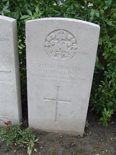 John Harkin grave