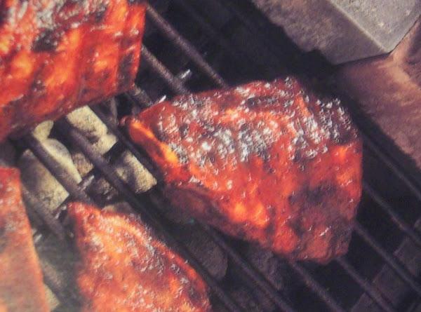 Pork Ribs--micro Start, Then Grilled Recipe