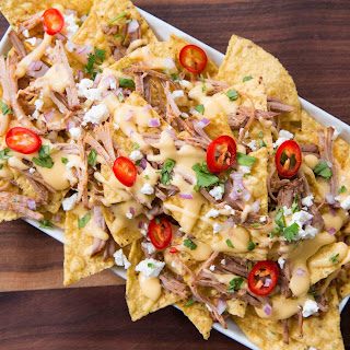 Pulled Pork Nachos.