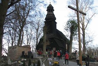 Photo: Kościół cmentarny w Sławnie