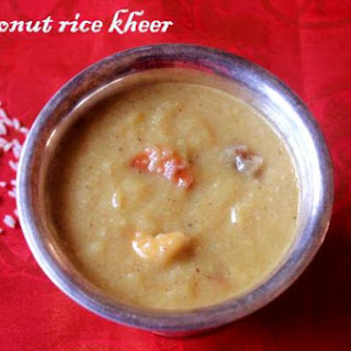 Coconut And Rice Kheer