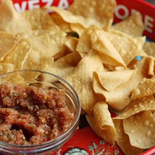 We don't call it Salsa, We call it CHILI.