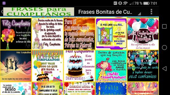 приложения в Google Play Frases Bonitas De Cumpleaños