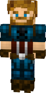 captain america skin minecraft