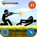 Stickman Shooting Gun Game 2021 – Shooting Games icon