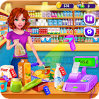 Supermarket Girl Cashier Game - Grocery Shopping icon
