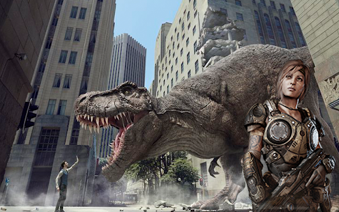 Download Dinosaur Hunting 2017: City Attack Survival Game For PC Windows and Mac apk screenshot 3