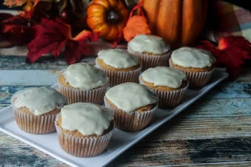 "Click Here for Recipe: Pumpkin Brown Sugar Cupcakes ""These cupcakes are a..."