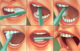 Как чистить зубы от налета