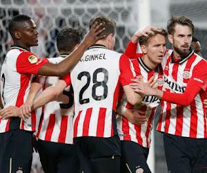 PSV verstevigt leiderspositie met ruime score, ook tal van Belgen in de Eredivisie