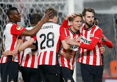 Eredivisie : le PSV Eindhoven ne laisse aucune chance à Roda