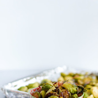 Roasted Brussel Sprouts and Bacon