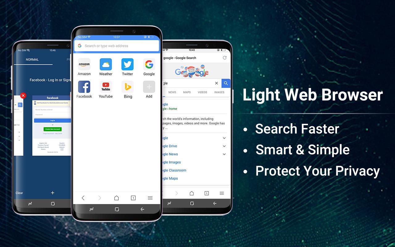 Web Browser & Fast Explorer screenshots