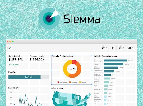 Slemma: data visualization and dashboard tool