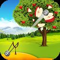 Apple Shooter : Slingshot Knockdown Games icon