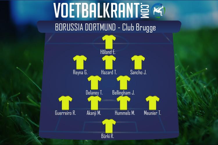 Borussia Dortmund (Borussia Dortmund - Club Brugge)