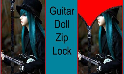 Guitar Doll Zip Lock