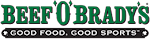 Logo for Beef 'O' Brady's Wesley Chapel- Wiregrass
