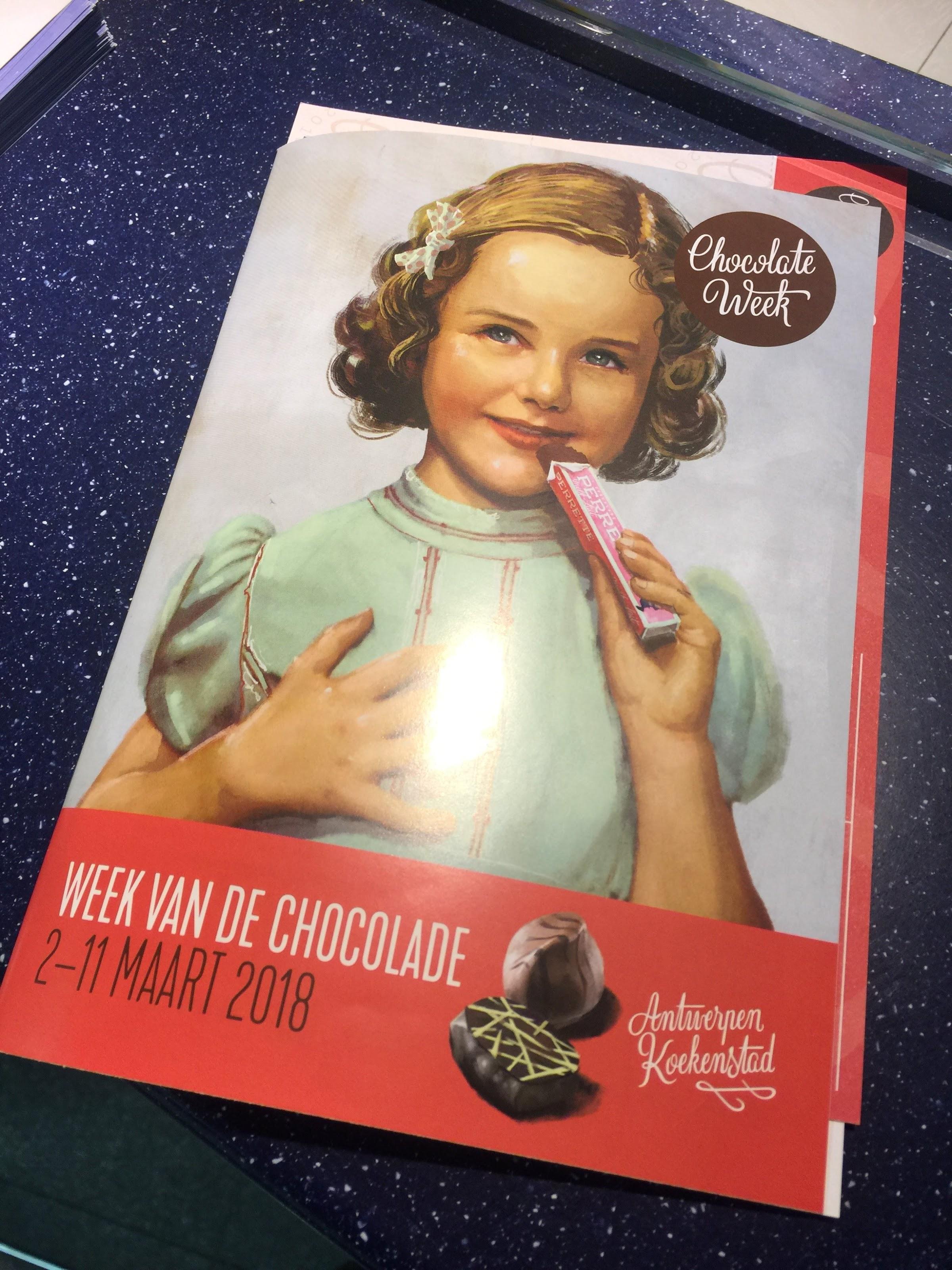 Antwerp Chocolate Week catalouge