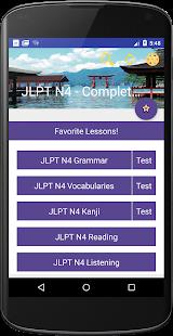 JLPT N4 - Complete Lessons - náhled
