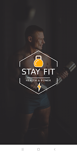 Gym Trainer and Fitness Coach | Stay Fit pro Screenshot