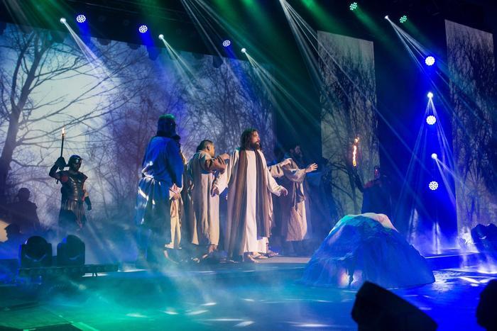"Elation Lighting & Video Enhances ""The Thorn"" | Technologies for Worship  Magazine"