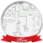 Home Electrical Wiring Diagram icon