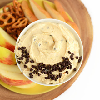 Healthy Peanut Butter Chocolate Chip Yogurt Dip
