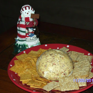 Becky's Easy Peasy 2-Ingredient Cheese Ball