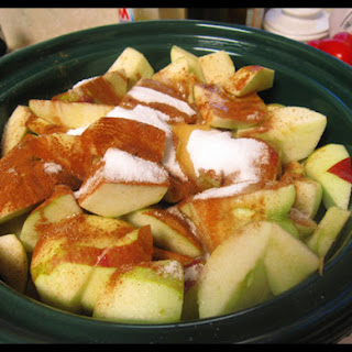 Apple Crock Pot Dessert